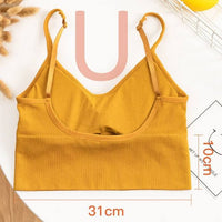 2-in-1 Seamless Bra Top (Low Back)