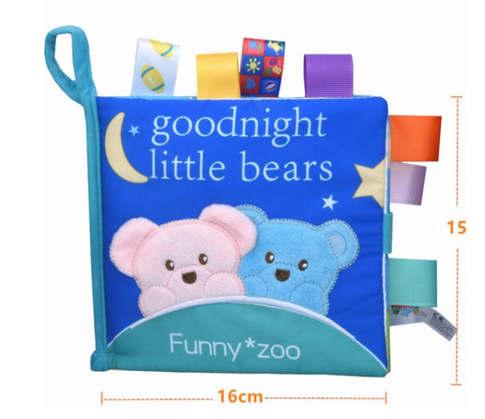 Baby Sensory Interactive Soft Book (60% Off NOW!)