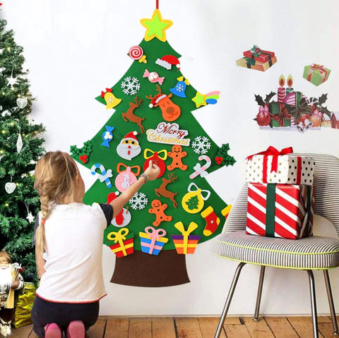 Funnel DIY Felt Christmas Tree