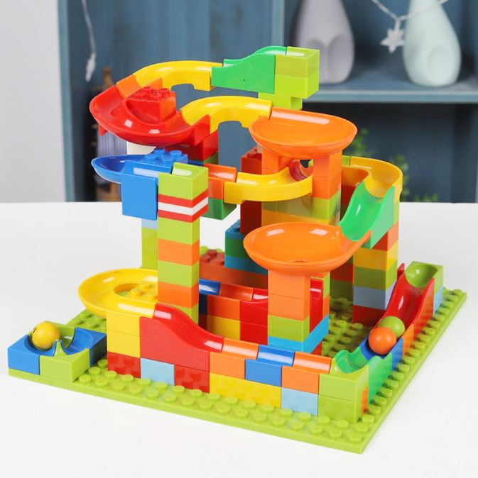 Mini Marble Run Building Toy