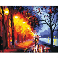 Painting By Numbers - Midnight Stroll (P-23)