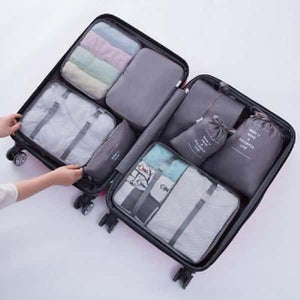 8-in-1 Luggage Storage Organizer