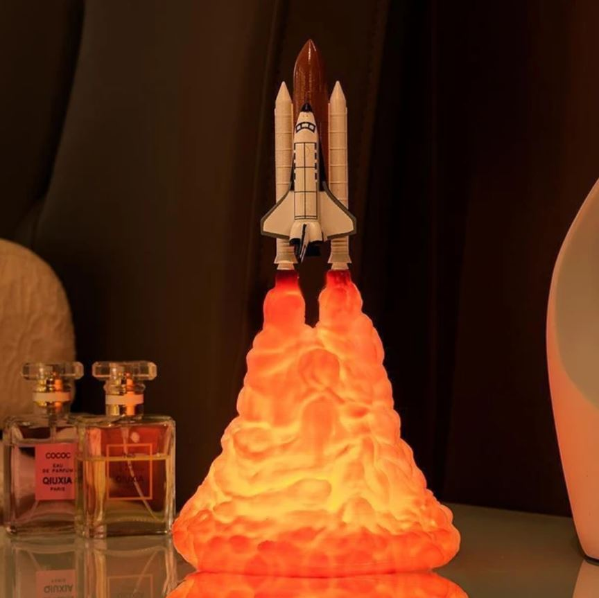 Space Shuttle Rocket Lamp