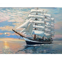 Painting By Numbers - Sailing (P-26)