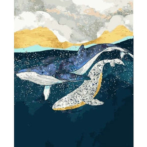 Painting By Numbers - Whale (A142)