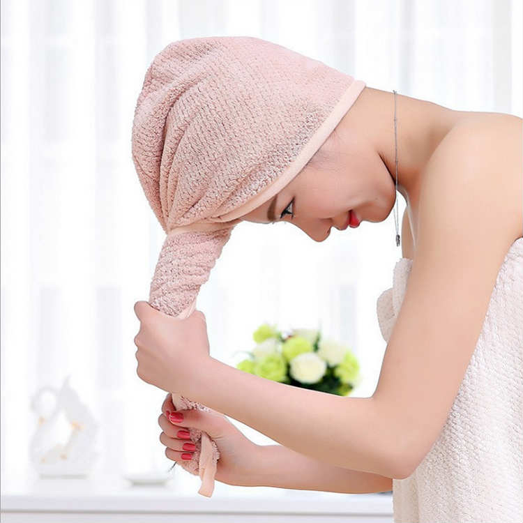 Quick Dry Hair Towel (3pcs)