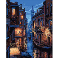 Painting By Numbers - Venice Canal (P-09)
