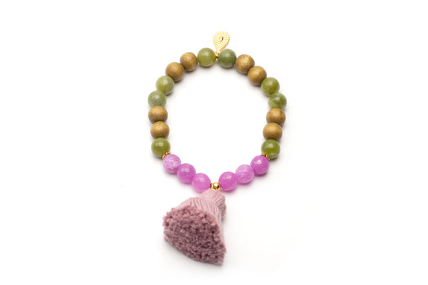 A20 Mala Single Olive Purple