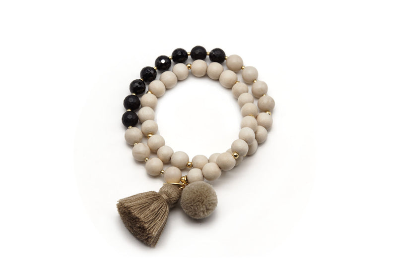 A20 Mala Twin White and Black