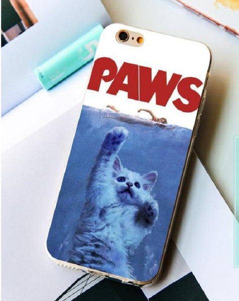 Cat PAWS Pets iPhone Case