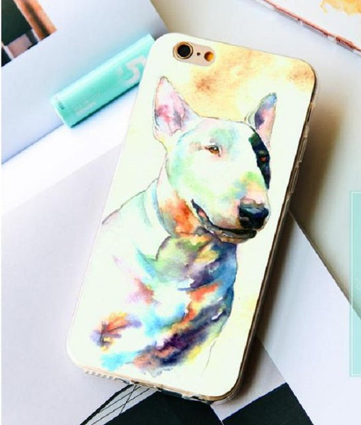Bull Terrier Pets iPhone Case