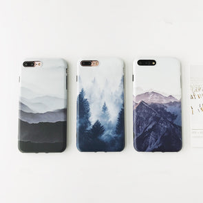 Moutain Forest Scenery iPhone Case