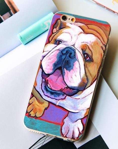 Bull Dog Pets iPhone Case