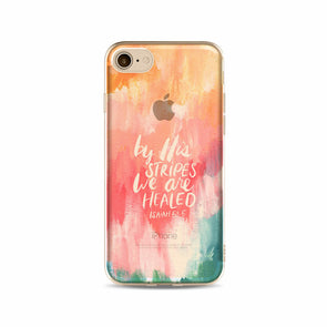 'By His Stripes...' Inspirational iPhone Case
