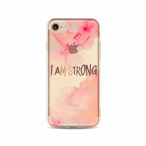 'I Am Strong' Inspirational iPhone Case