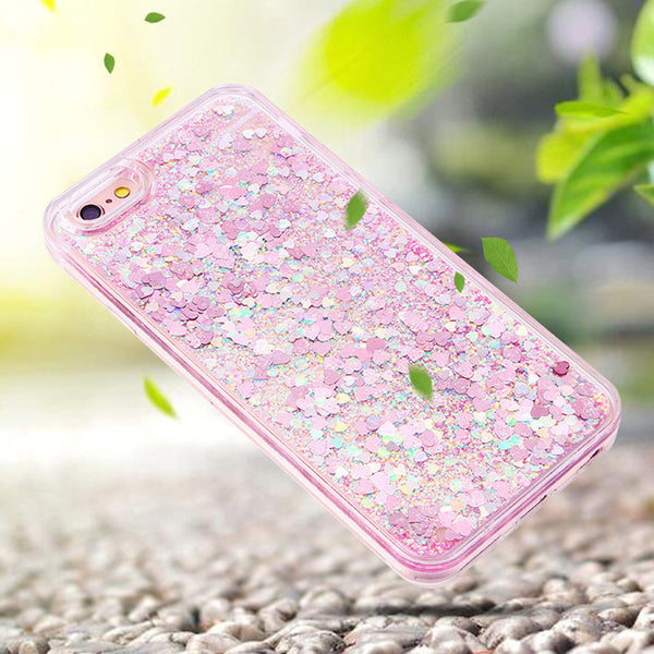 Classic Colorful Glitter iPhone Case