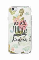 """Do All Things ..."" Inspirational iPhone Case"