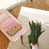 Pink Green White Perfume Bottle Glitter iPhone Case