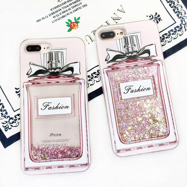 Perfume Bottle Glitter iPhone Case