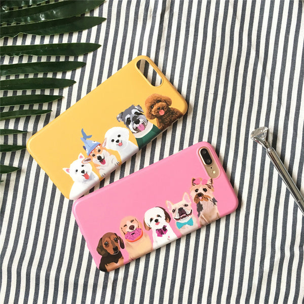 [Limited Edition] Cute Dog Artistic iPhone Case