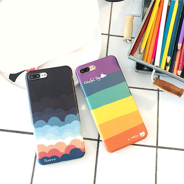 Rainbow Color Artistic iPhone Case