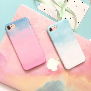 [Limited Edition] Watercolor Gradient Artistic iPhone Case