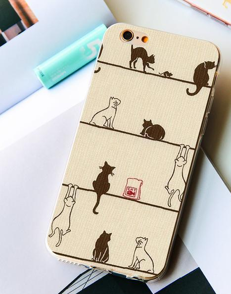 Playful Cats Pets iPhone Case