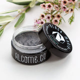 Black Magik Activated Charcoal Toothpaste / Whiten Teeth Naturally / Vegan / Organic - Alcome.Co