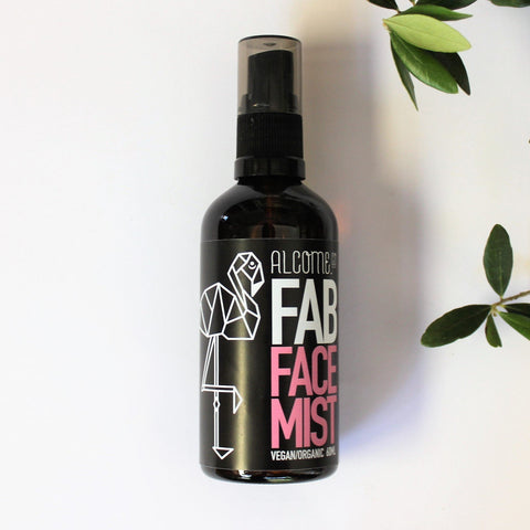 Luxe Fab Rosewater Face mist /  Vegan / Make - up Toner Aloe Vera Anti-Acne Natural Healing - Alcome.Co