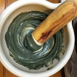 Detox Face Mask & Clarify Skin with Organic Green Clay Blend /  Handcrafted in Australia - Alcome.Co