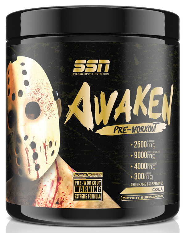 AWAKEN PWO LIMITED EDITION GOLD - svensk sport nutrition