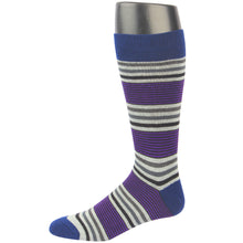 RioRiva Men Dress Socks Classic Mixcolor -Big & Tall Fun Designed Patterned Colorful
