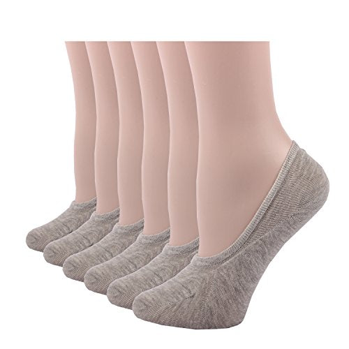 RioRiva Women Liner Invisible No Show Socks Short Non Slip Low-Cut Sockette