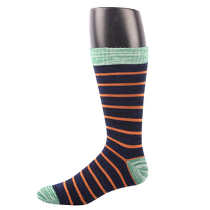 RioRiva Men Dress Socks classic Striped -Patterned Colorful For Casual Home