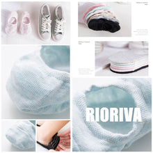 RioRiva Gray Women No Show Socks Solid color-Low cut invisible