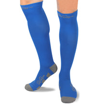 RioRiva 20 - 30 mmHG graduated compression socks Blue for running