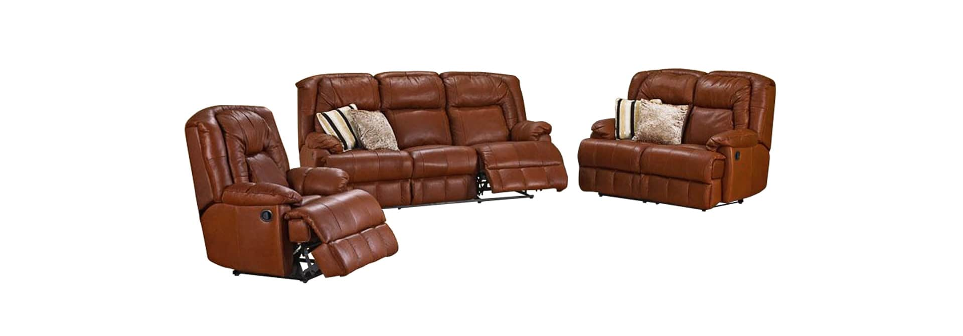 Alpine Lounge New York 3 Piece 5 Action Recliner Suite - Danie Du Toit Furnishers