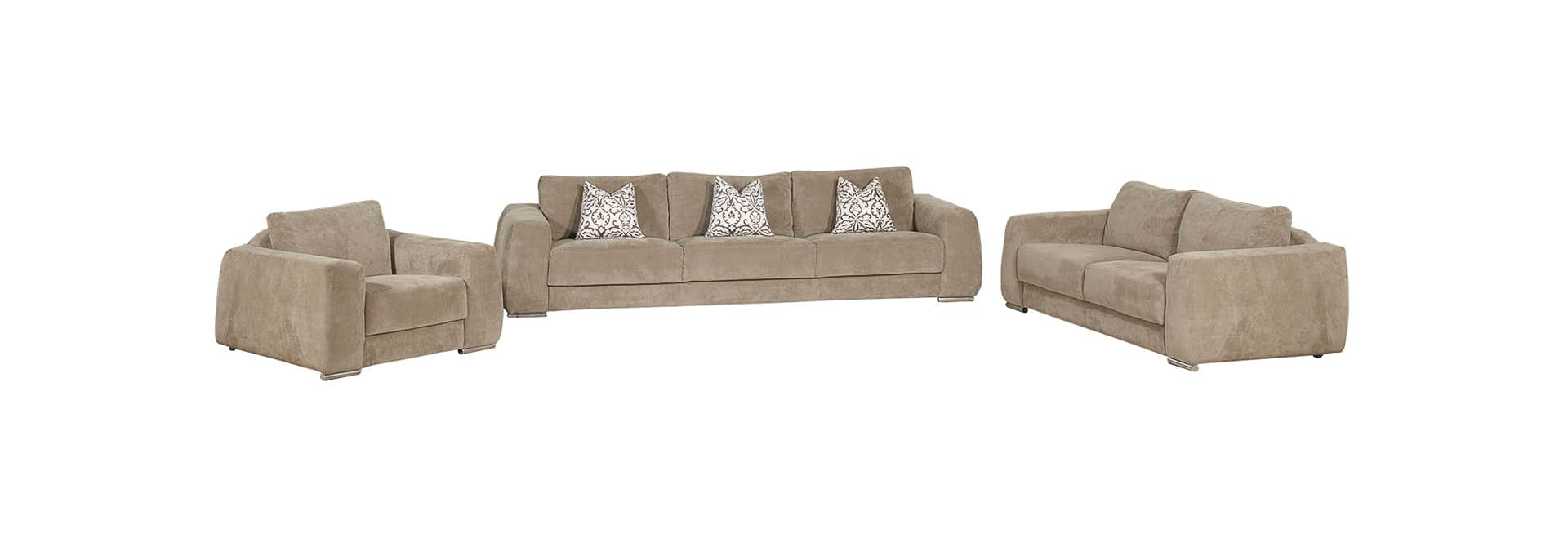 Alpine Lounge Parma 3 Piece Suite - Danie Du Toit Furnishers