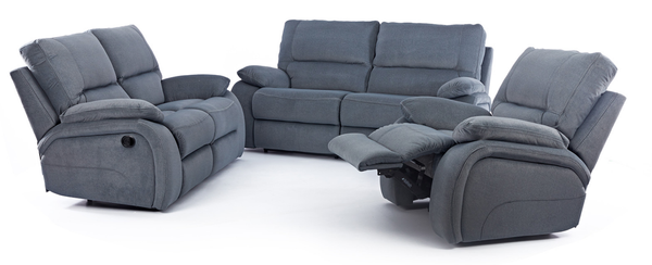 3 Piece 5 Recliner Vincent Lounge Suite