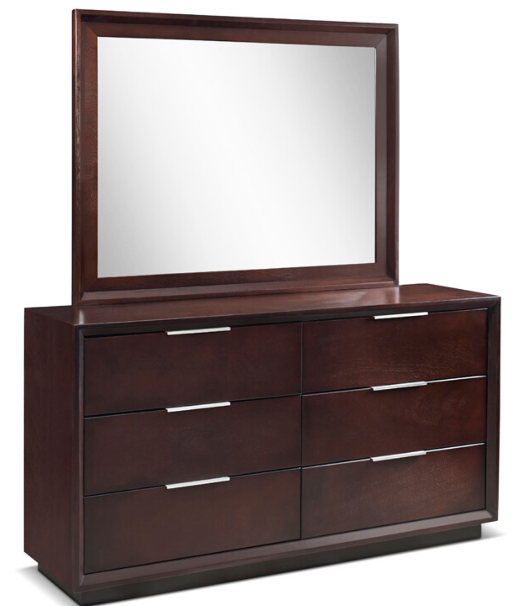 Leroy Dresser and Mirror