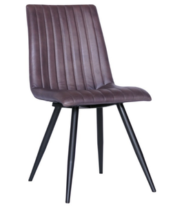 Java Full Leather Dining Chair