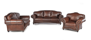 3 Piece Malo Lounge Suite - FULL LEATHER ONLY
