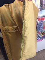 Down haori jacket GOLD
