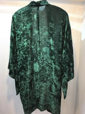 Haori Jacket velvet green