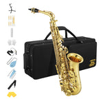 Eastar Professional Alto Saxophone AS-Ⅲ Commander E Flat with full kit and Saxophone Stand