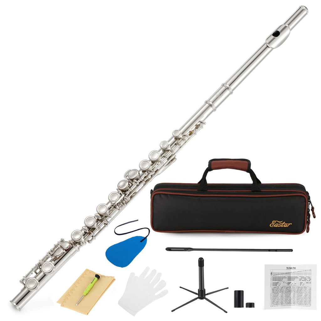 Eastar EFL-1: 16 Key Beginner Flute Set With Carrying Case