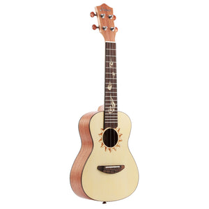Donner Spruce 21 inch Soprano Ukulele with Accessories