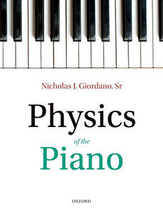 Physics of the Piano (Paperback)