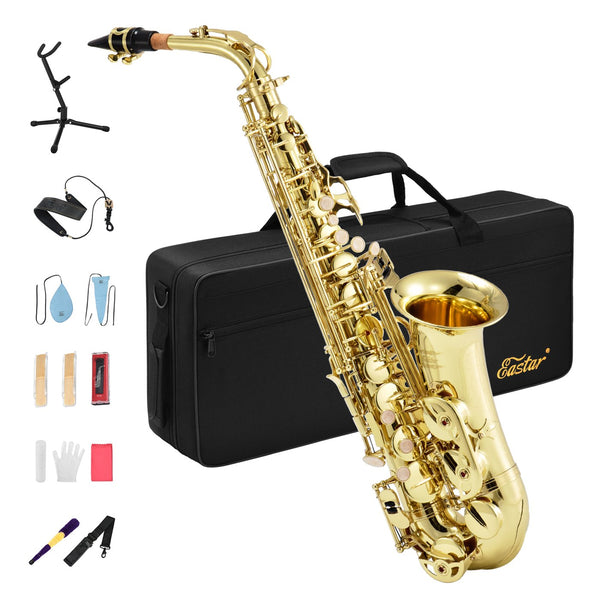 Eastar AS-Ⅱ Student Alto Saxophone Full Kit with case