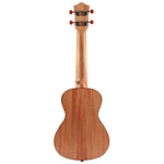 Donner Spruce 21 inch Soprano Ukulele back with Accessories